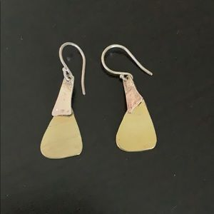 Gold and Silver Silpada Earrings